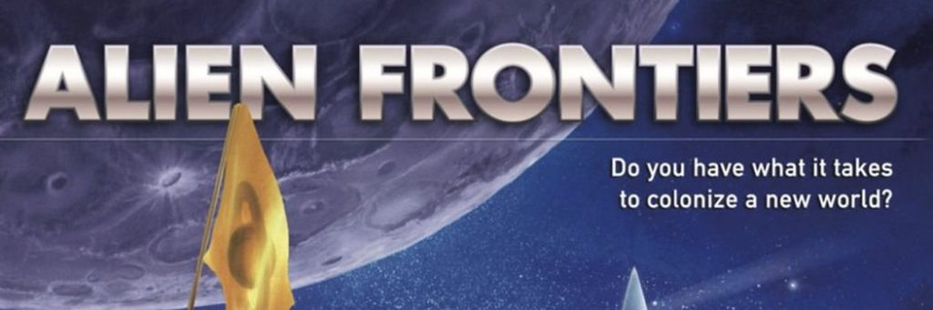 Best Board Games of 2010 - Alien Frontiers