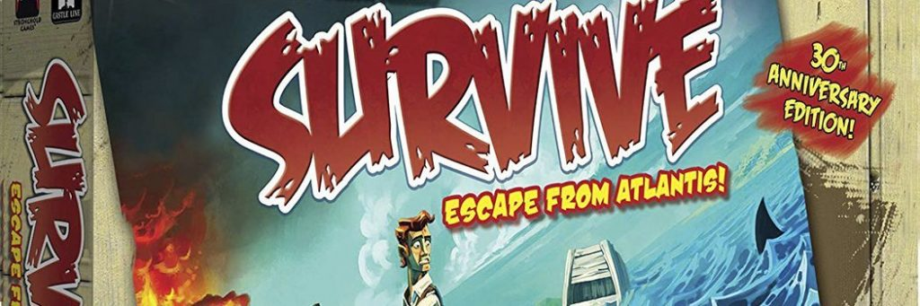 Best Board Games of 2010 - Survive Escape From Atlantis