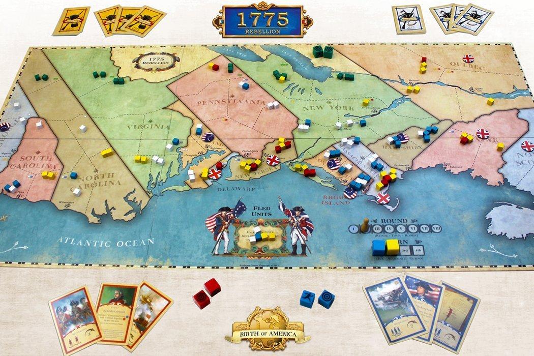 5 Games Like 1775: Rebellion