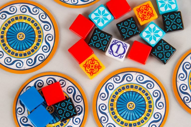 Azul Board Game Tile Factory