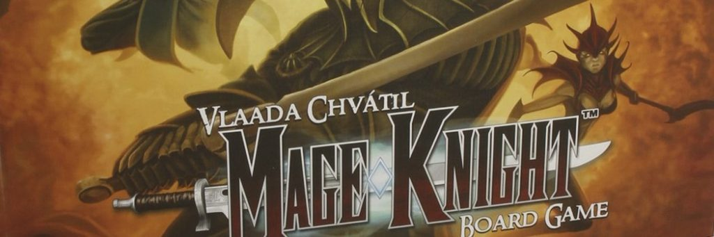 Best Board Games of 2011 - Mage Knight