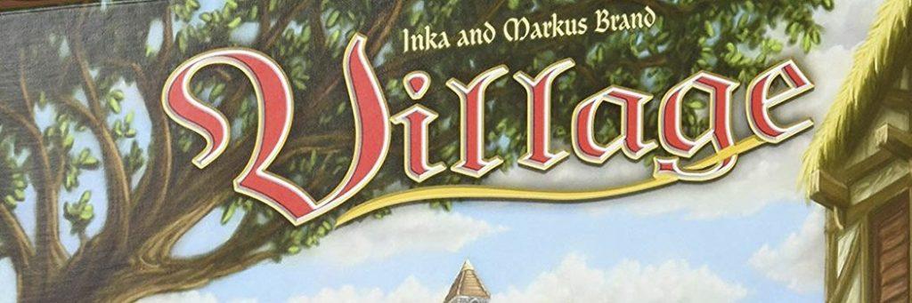 Best Board Games of 2011 - Village