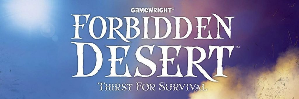 Best Board Games of 2013 - Forbidden Desert