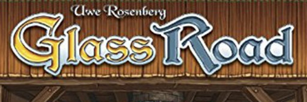 Best Board Games of 2013 - Glass Road