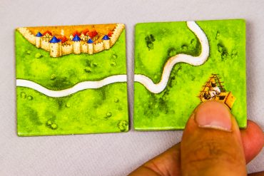 Carcassonne Board Game First Move Place
