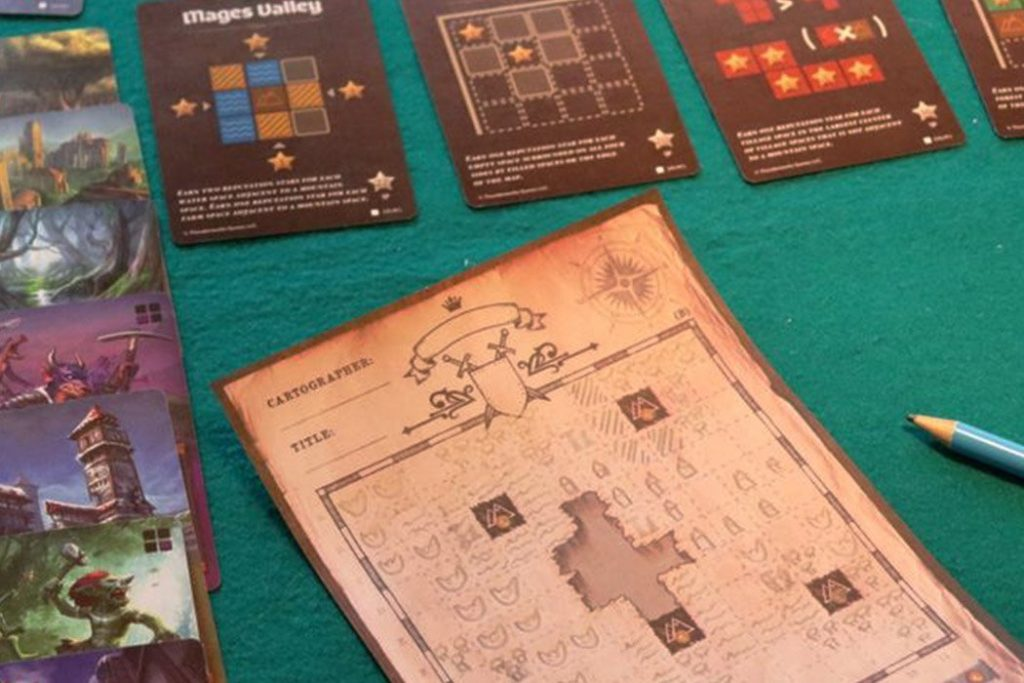 Cartographers Board Game