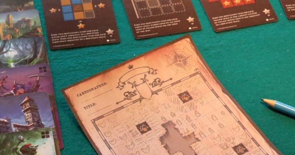 Cartographers Board Game