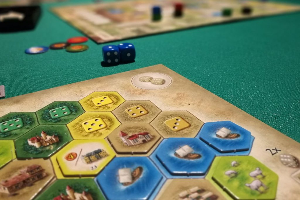 Castles of Burgundy Board Game