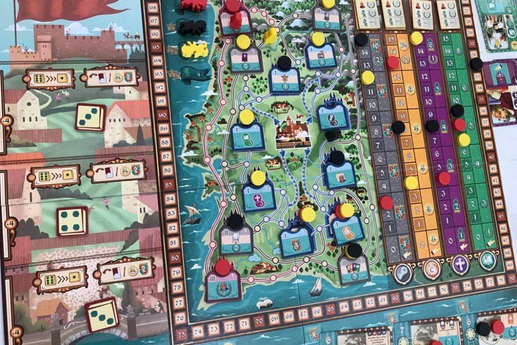 Coimbra Board Game