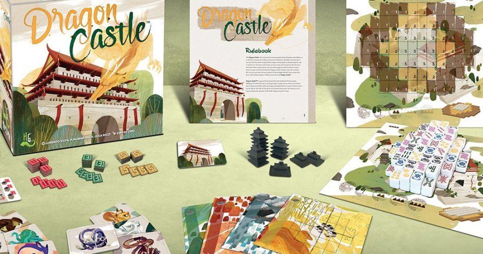 Dragon Castle Board Game