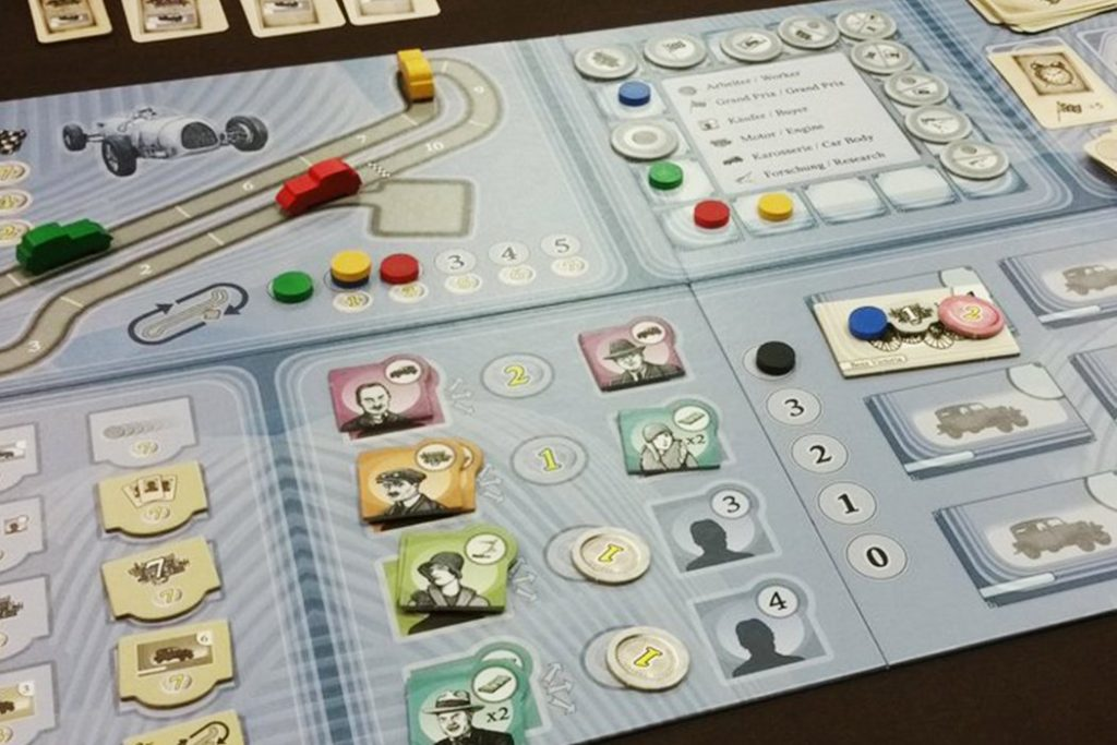 Kraftwagen Board Game