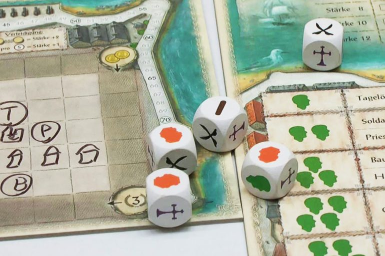 Saint Malo Board Game