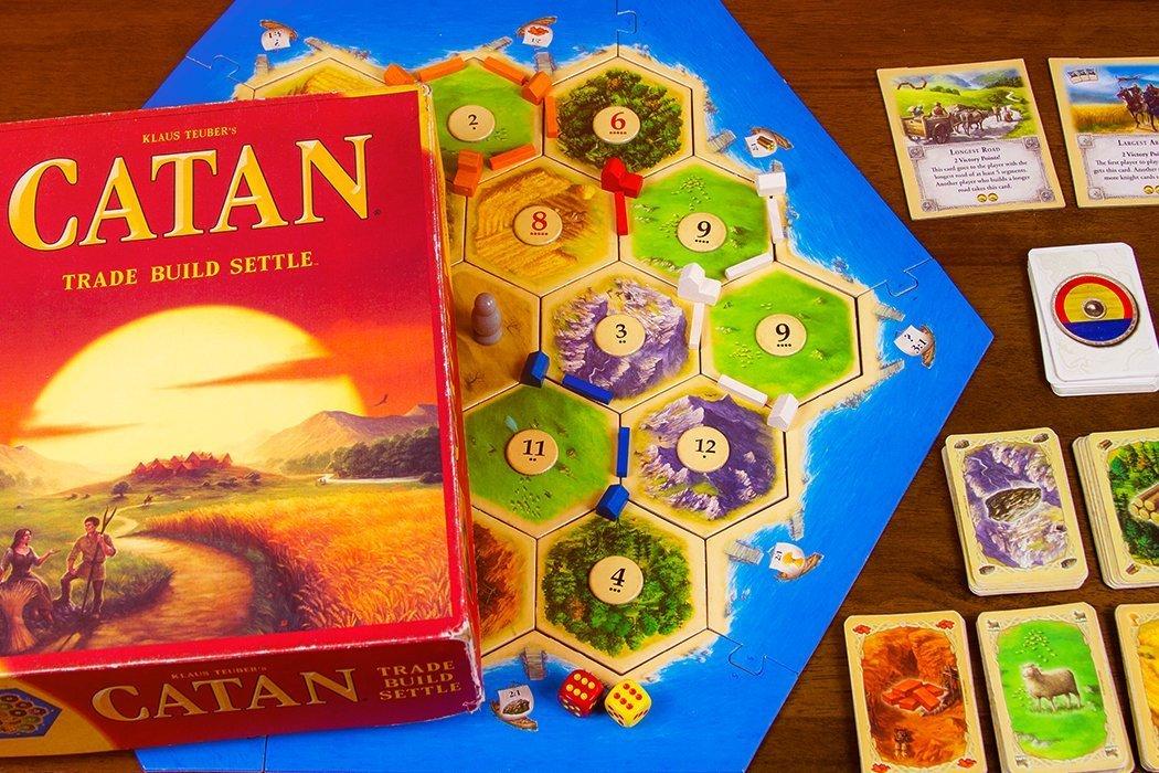 5 Games Like Settlers of Catan