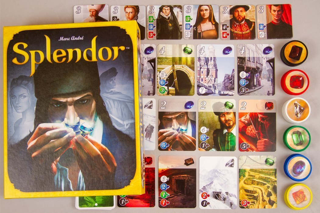 5 Game Like Splendor