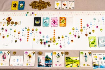 Tokaido Full Board Overview Aerial
