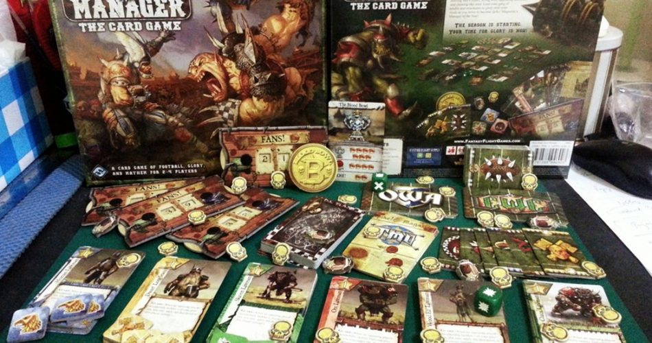 Bloodbowl Team Manager Deck Building Board Game