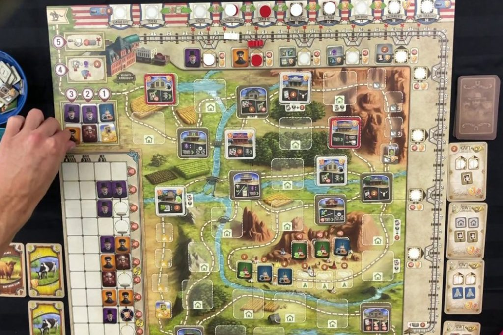 Great Western Trail Deck Building Board Game