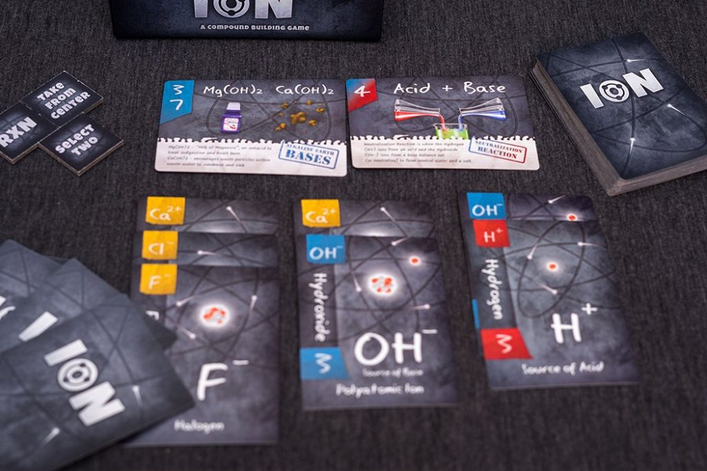Ion A Compound Building Game Board Game