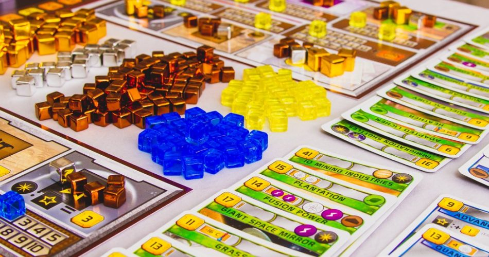 Terraforming Mars Board Game Resources and Cards