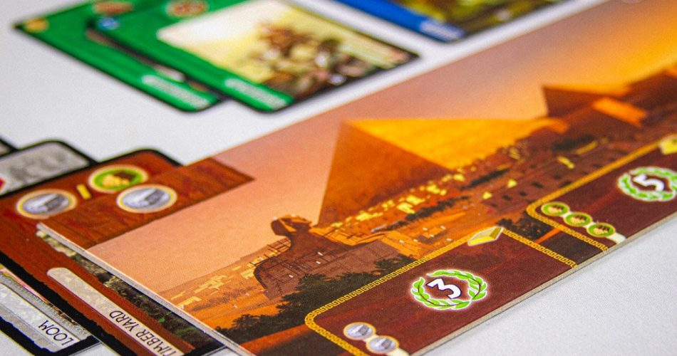 7 Wonders Board Game Pyramid Wonder