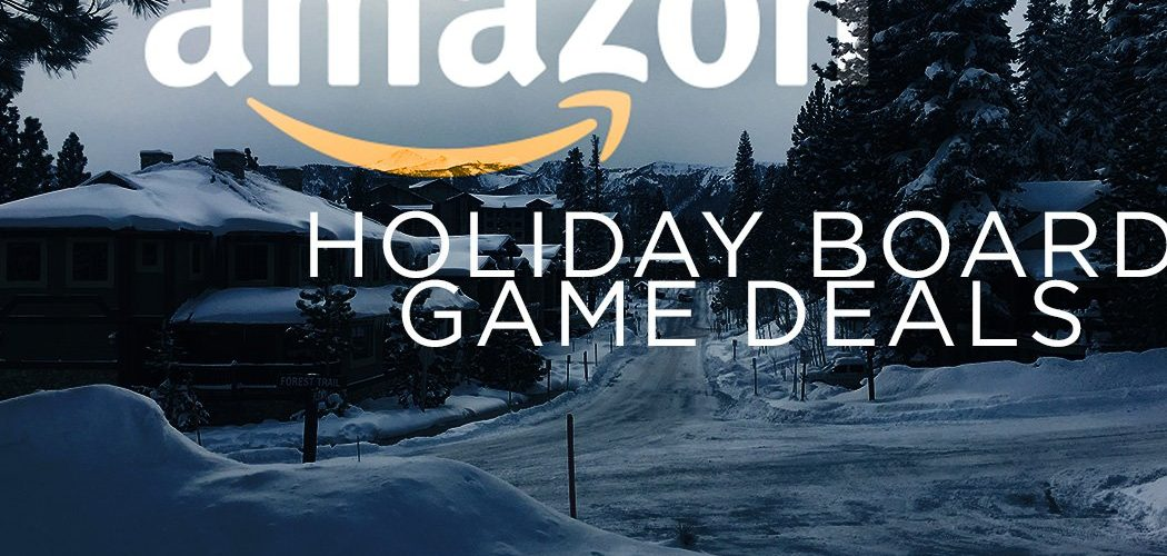 Amazon Holiday Board Game Deals