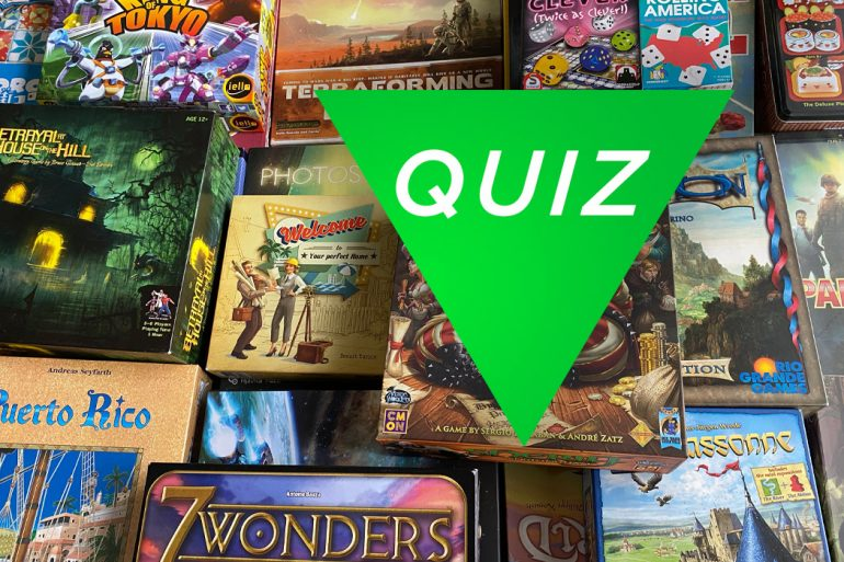 Board Game Trivia Quiz