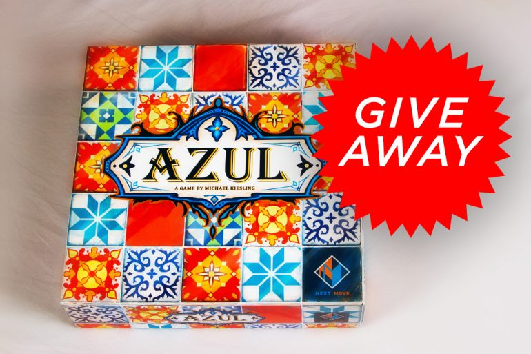Azul Give Away Game Box