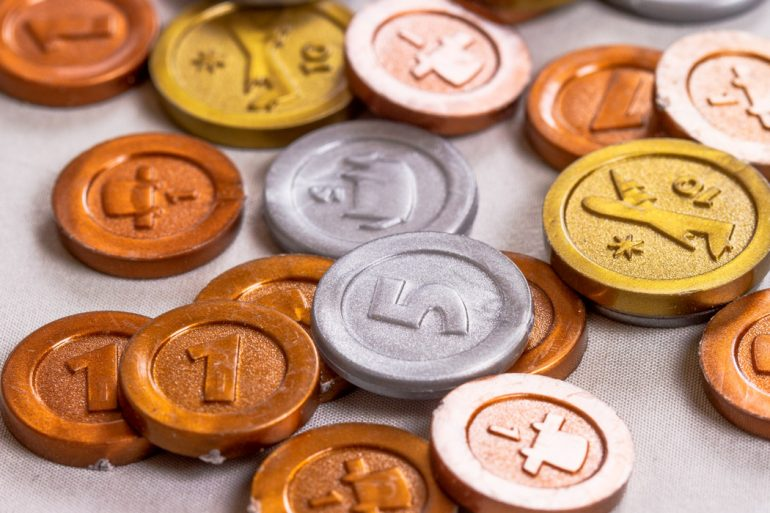 Machi Koro Board Game Coins
