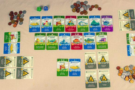 Machi Koro Board Game Overview