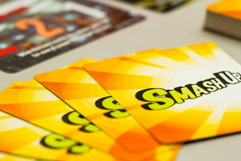 Smash Up Board Game Card Backs