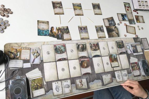 Arkham Horror Card Game Board Game