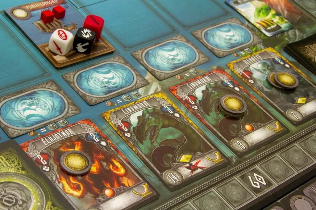 Champions of Midgard Board Game Sea Battle