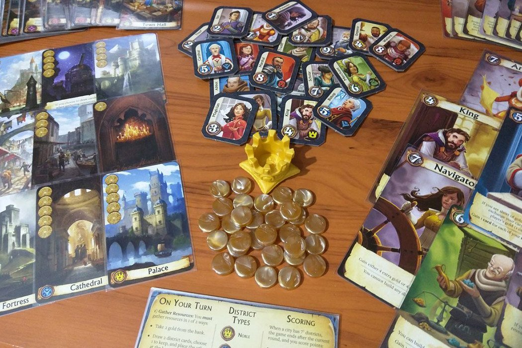 5 Games Like Citadels