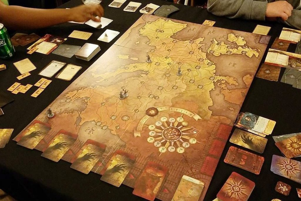 Fury of Dracula Board Game