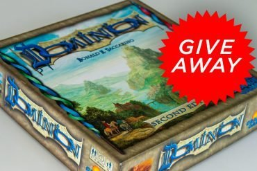 Dominion Board Game Giveaway