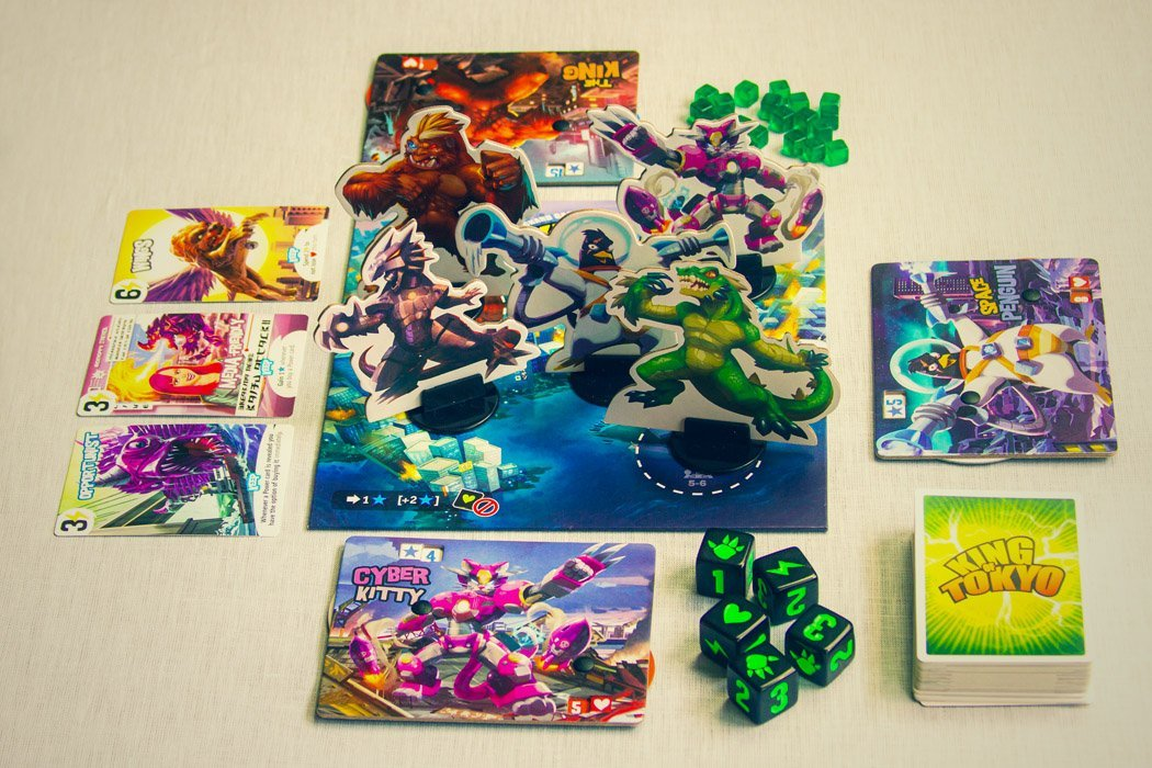 5 Games Like King of Tokyo