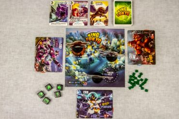 King of Tokyo Board Game Overview