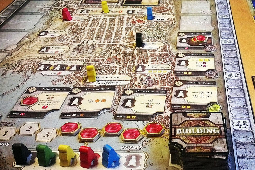 5 Games Like Lords of Waterdeep