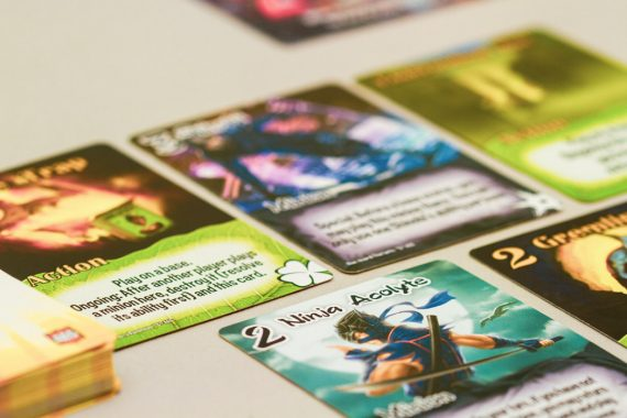 Smash Up Board Game Minion Ninja