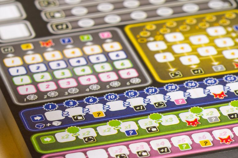 Twice As Clever Board Game Score Sheet