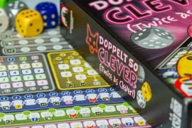 Twice As Clever Board Games Score Sheet