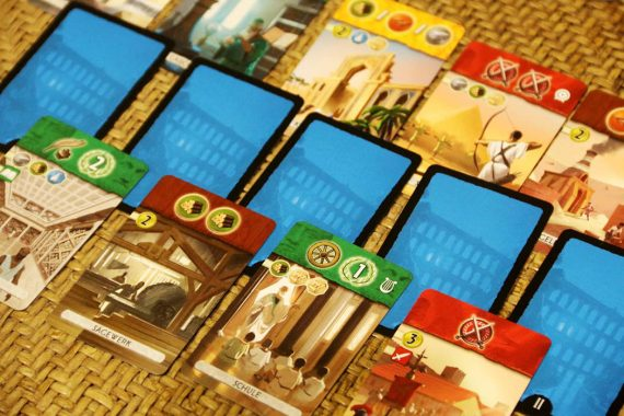 7 Wonders Duel Board Game