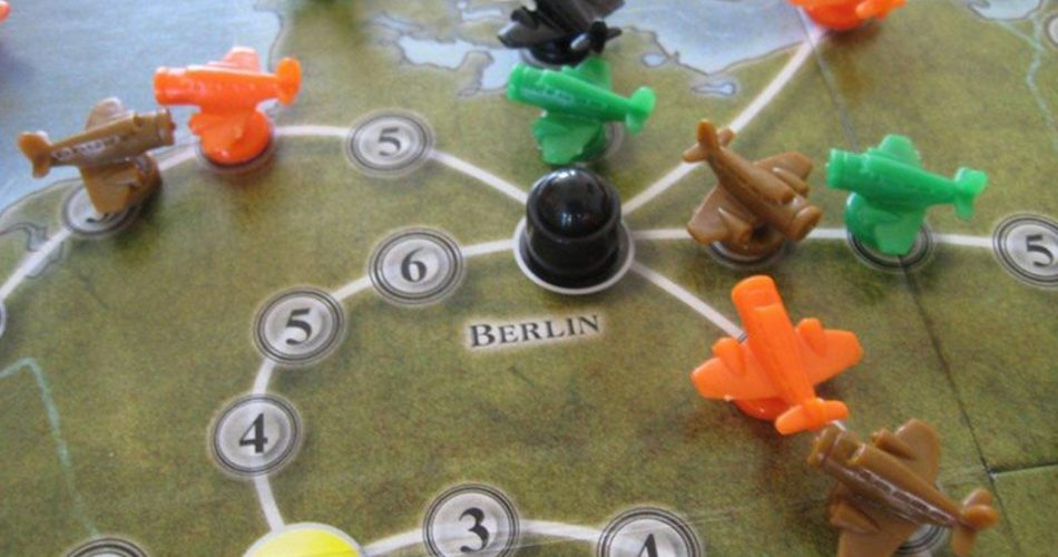 Airlines Europe Board Game