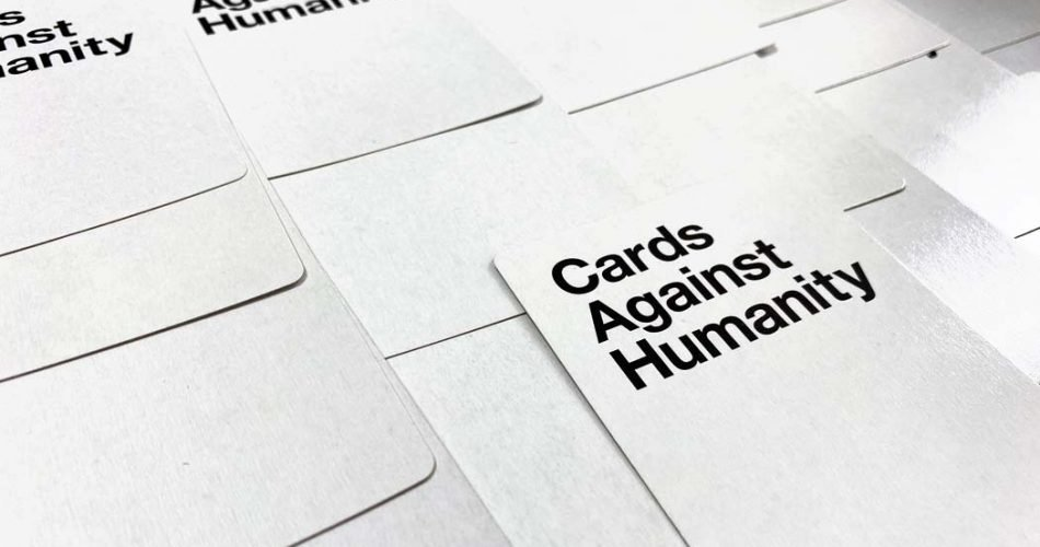 Cards Against Humanity (CAH) Board Game Card Backs
