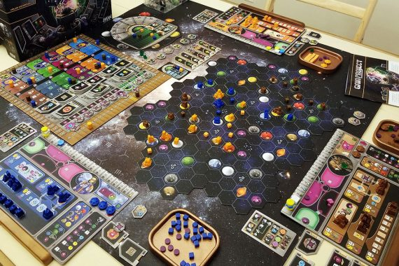Gaia Project Board Game
