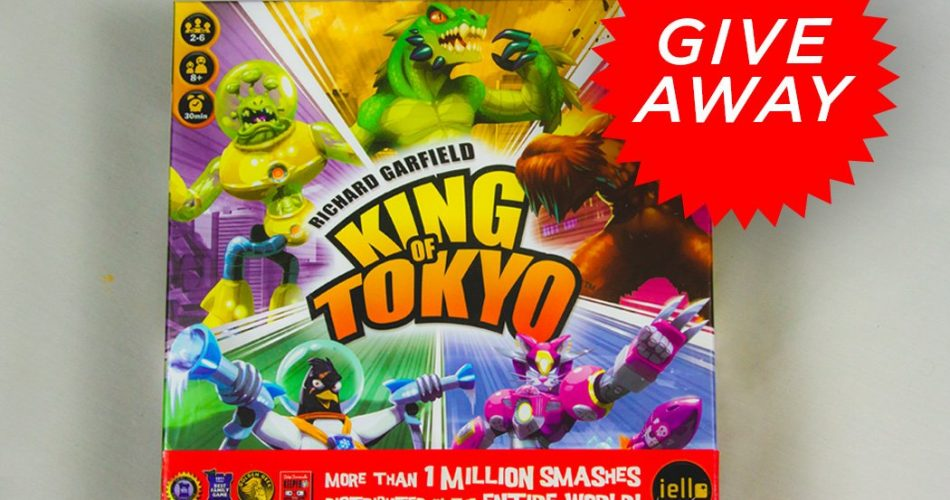 Giveaway King of Tokyo Board Game