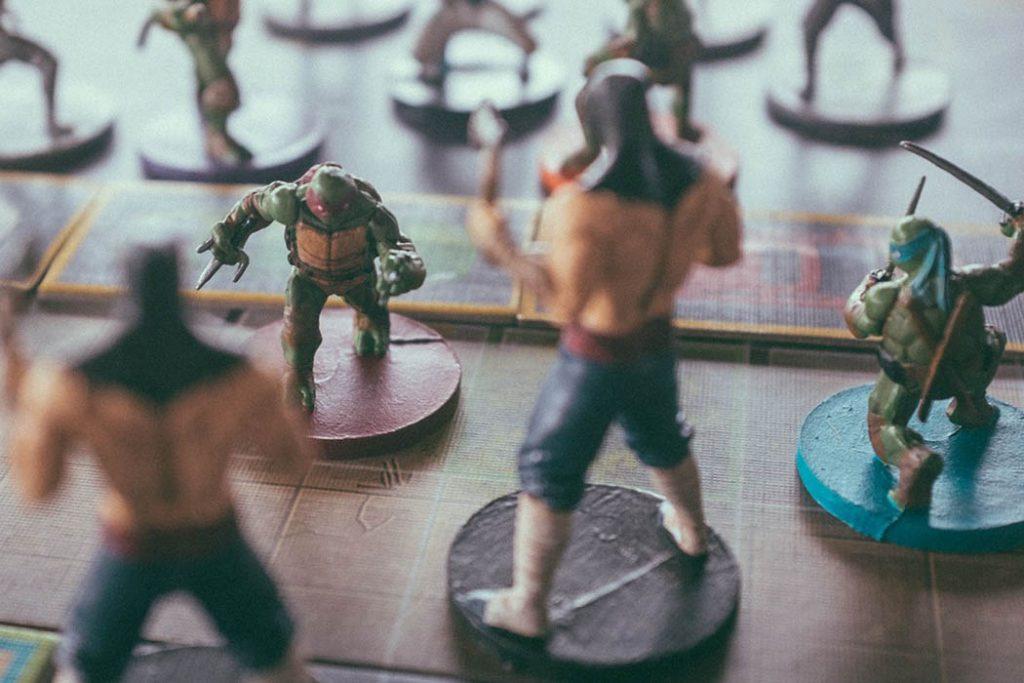 Teenage Mutant Ninja Turtles Shadows of the Past Board Game