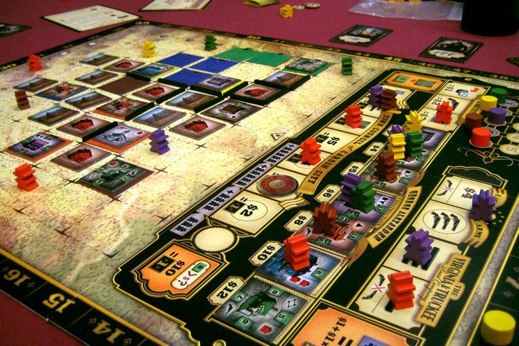 Carson City Board Game