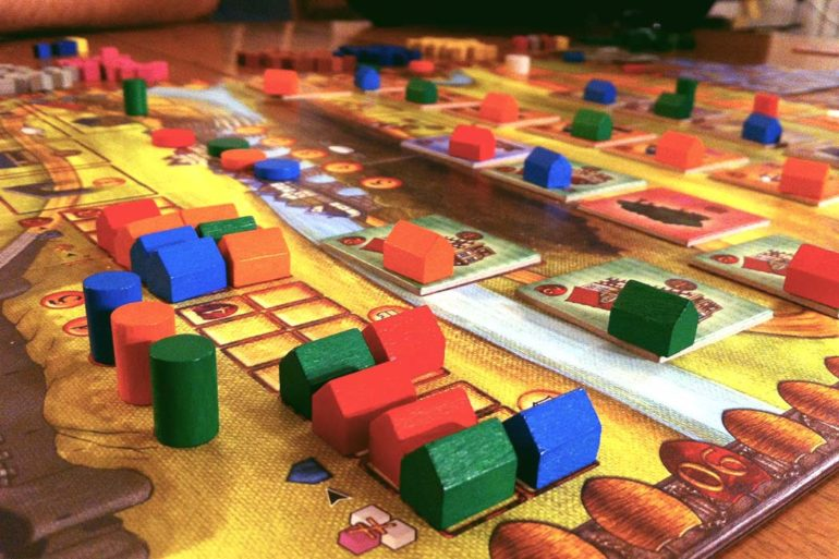 Caylus Medieval Board Game