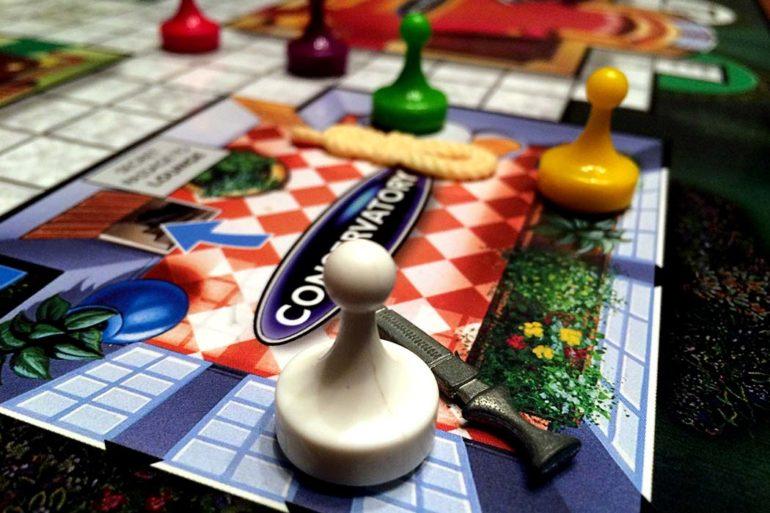 Clue Board Game